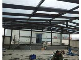 太谷工地钢结构万博manbetx官网登录正在施工中