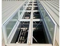 山西省体育馆消防联动排烟天窗
